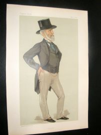 Vanity Fair Print 1883 Charles Clow Tennant, Business